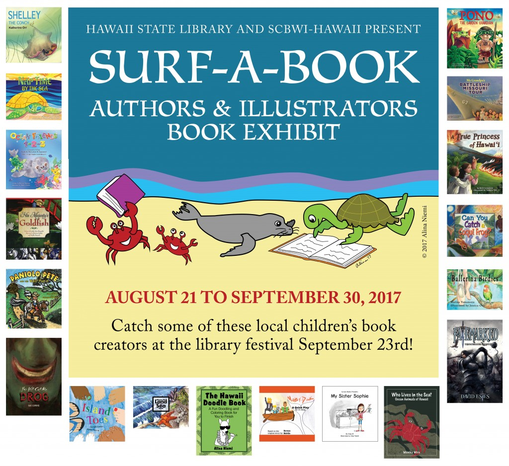 Surf-A-Book Exhibit Participants